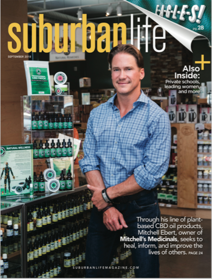 Mitchell's Medicinals in Suburban Life Magazine
