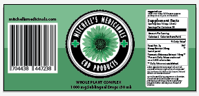 Mitchell's Medicinals label