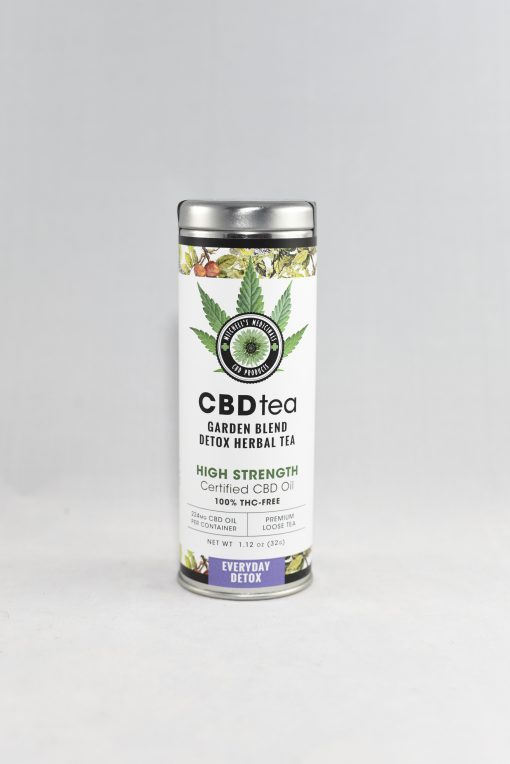 cbd hemp detox tea
