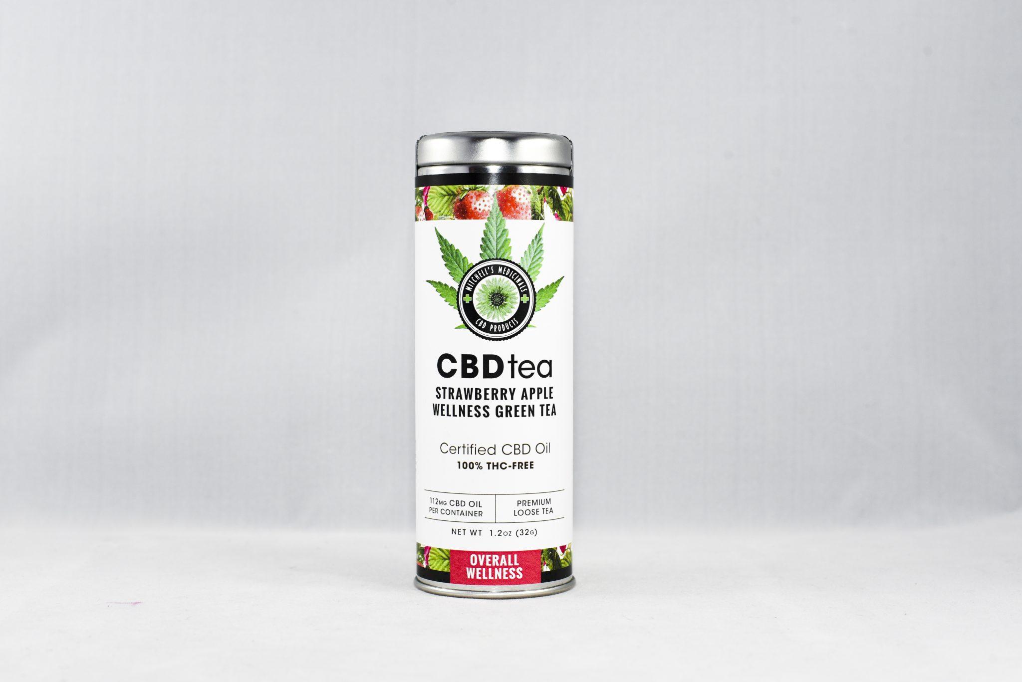 Overall Wellness Hemp CBD Tea - 112mg